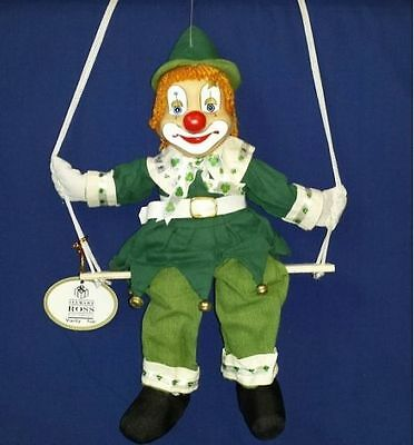 "job lot of 36 12"" Leprechaun Clown on Swing Vanity Fair  by Stewart Ross"