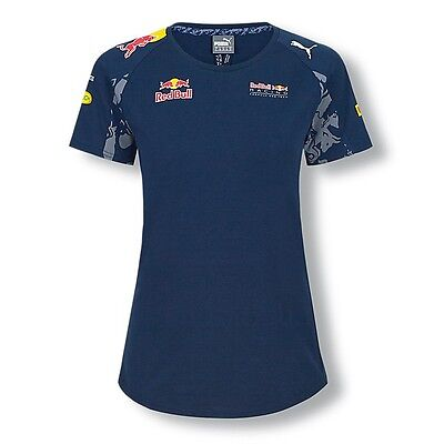 OFFICIAL Red Bull Racing F1 Puma Teamline T-shirt LADIES WOMENS - NEW