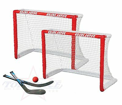Mini Hockey Tor 2er Set Bauer Inlinehockey Rollhockey