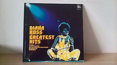 Diana Ross - Greatest Hits (Tamla Motown Stma 8006) Uk Stereo Lp Ex