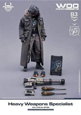 New Devil Toys Heavy Weapon Specialist 1/6 figure WOO World of order master