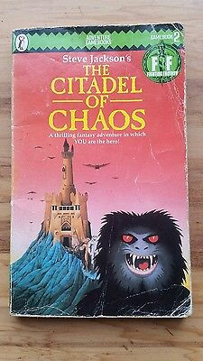 Steve Jackson Fighting Fantasy Game Book 2 The Citadel of Chaos