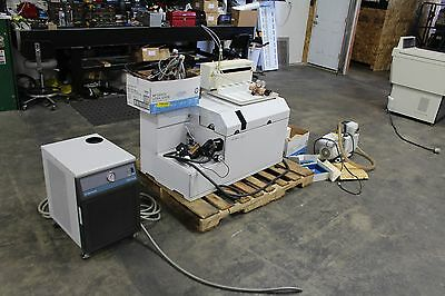 Agilent 7500 ICP-MS ICPMS CHILLER AUTOSAMPLER CHEMSTATION SOFTWARE NICE