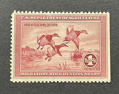WTDstamps - #RW2 1935 - US Federal Duck Stamp - NG