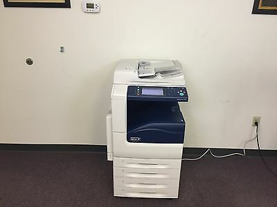 Xerox Workcentre 7120 Color Copier Machine Network Printer Scanner Copy Fax MFP