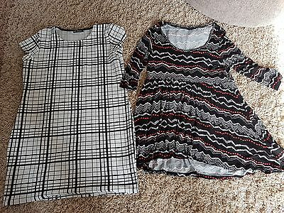 Ladies women's Tunic tops dresses size 16