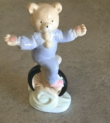 Unicycle Bear Statue