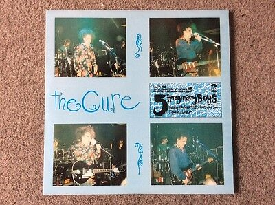 The Cure 5 Imaginary Boys Live From T+C 2 London 1991 Vinyl Double Album