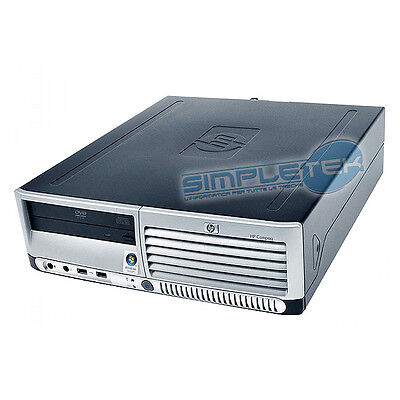 Mini Computer Hp Dc 7700 Small Form Factor,windows 7,dvd Rom,warranty 3 Months