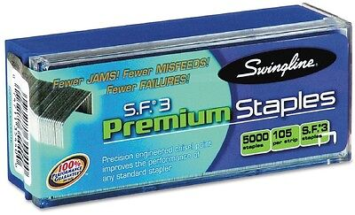 Swingline S.F. 3 Premium Chisel Point 105 Count Half Strip Staples 5000/Box New