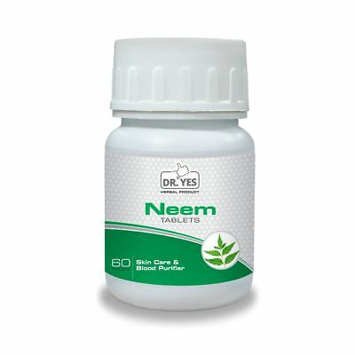 Neem Tablets Herbal  60 Tab Skin Tonic ( Expiry - May/2020 )