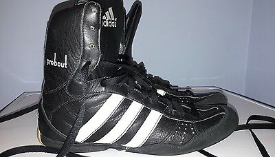 mens adidas boxing boots size 9