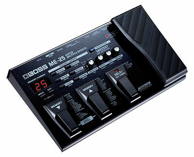 Boss Me-25 Guitar Multi Effects Pedal Processor & Power Supply 20 50 70 80