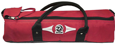 Taylor bowls bowling equipment 4 cylinder bowl bowls carry bag Red