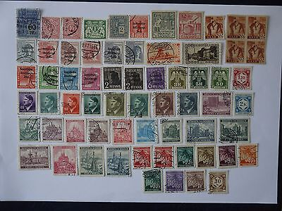 Germany Assortment Of Used Stamps