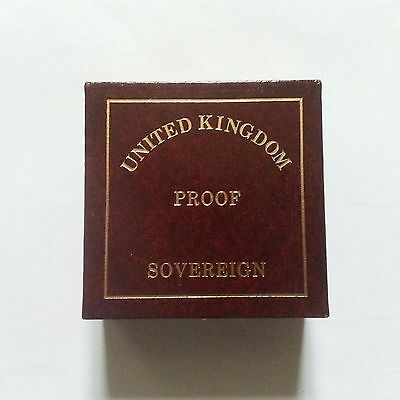 1996 Royal mint FULL gold proof sovereign with box and COA