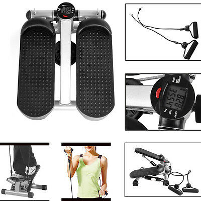 Mini Stepper Legs Arms Fitness Exercise Gym Equipment Aerobic Workout Machine UK