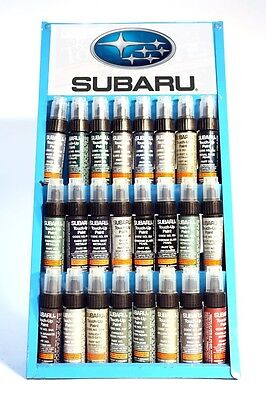 Genuine Subaru White Frost Pearl touch up paint code (01X) - part # J3610LS040A1