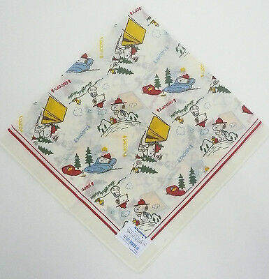 Scouts Of Japan / Nippon - Snoopy Scout Neckerchief (N/c) Scarf ~ New Issue