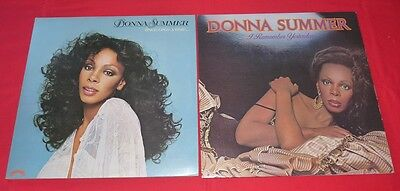 Lotto 2 LP Donna Summer - Once Upon A Time / I Remember Yesterday  LP CASABLANCA