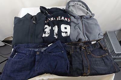 Mixed Job Lot of Men's Armarni 3 Jumpers 2 Pairs of Jeans All Used