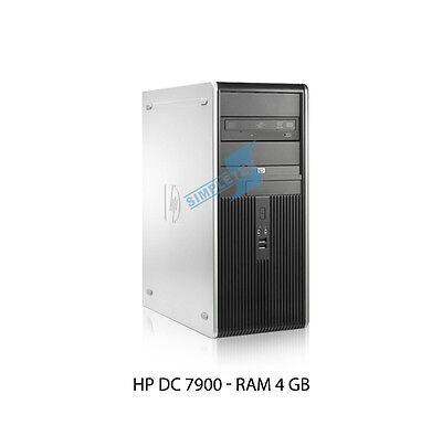 Pc Workstation Hp Dc7900 Intel Core 2 Duo 4Gb Nvidia Geforce Windows 7 Warranty
