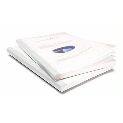 """Coverbind 2"""" White Clear Linen Thermal Covers 20pk - 575811"""