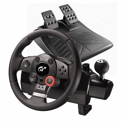 Ps3 Pc Sony Volante Logitech Driving Force Gt Con Pedales