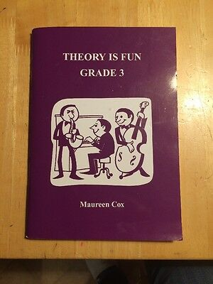 Theory Is Fun - Grade 3 - Maureen Cox - Excellent Condition
