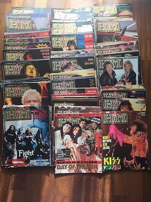 Lotto HM  (rivista heavy metal rock- anche sfusi)