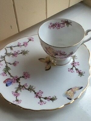 Tuscan China Cup And Cake Plate
