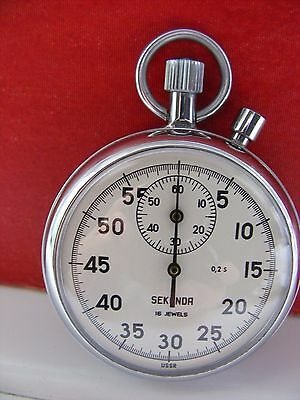 Seconda Stop Watch (Ussr)