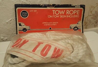 2 Ton 4 Metre Tow Strap  Rope Recovery On Town Sign Included