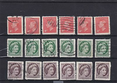 timbres canadien   stamps canada