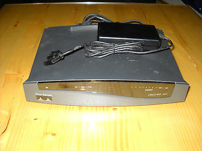 Cisco Router Series 800 Model Cisco 837 port: 4 x lan 1 x console 1 x adsl