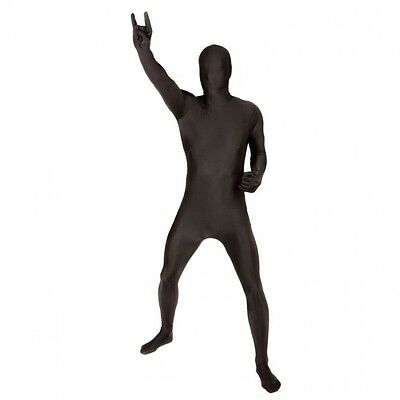Mens Morphsuit Size Xl Used Only Once £26 New In Black Fancy Dress Etc