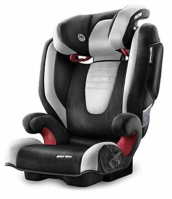 RECARO Monza Nova 2 Child Car Safety Surround Seat Group 2/3 Graphite