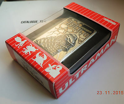 "Zippo Japanese Work . Ultraman Series "" Redking "".new In Box"
