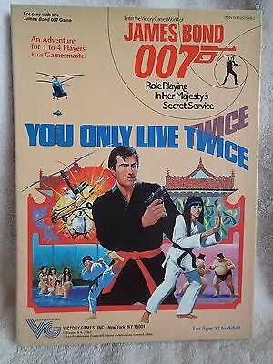 007 You only live twice (Victory Games 1984) James Bond RPG Adventure
