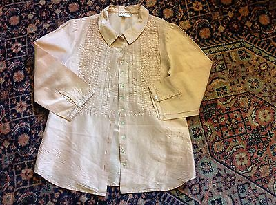 Neck & Neck girls silk blouse/shirt size 140-152 age approx 10years
