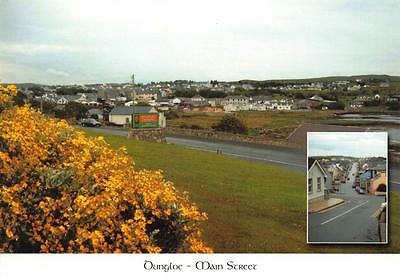 Postcard DUNGLOE Main Street County Donegal Ulster IRELAND