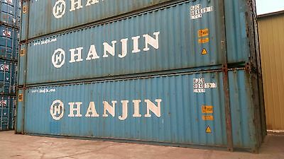 45' High Cube Shipping Containers - Storage Containers
