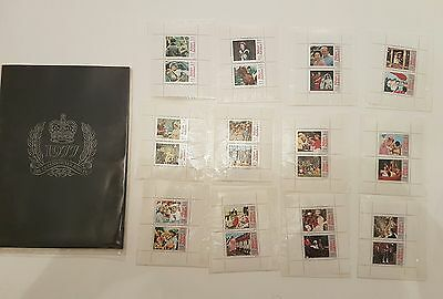 silver jubilee 1952-1977 Stamp collection and Album.