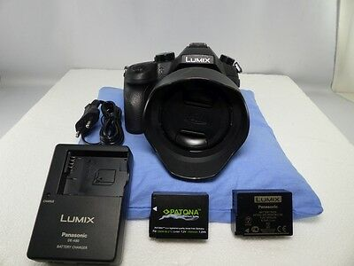 PANASONIC LUMIX DMC-FZ1000 20,1 MP Digitalkamera schwarz (4881)
