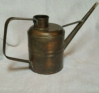 """Smith & Hawken LARGE Solid Copper Watering Can 9"""" Tall 16"""" Wide Vintage"""