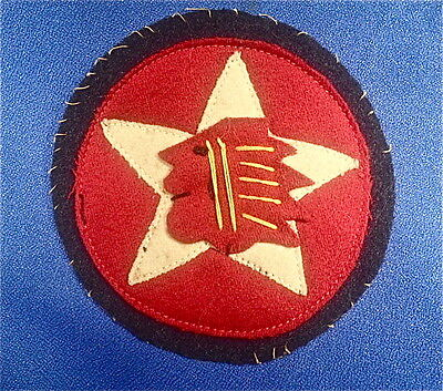WW1 US ARMY-USMC -2nd Division -1st Battalion- 23rd Regiment Indian Head Patch