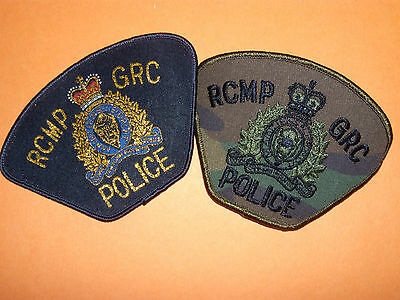 Canada Federal Police patches lot
