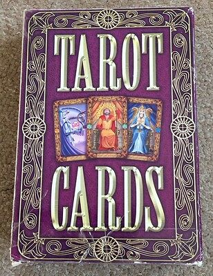 Pack Of Tarot Cards By Top That Large Cards Instruction Booklet Included