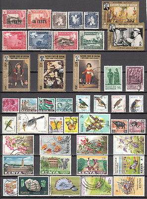 LOT 143. KENYA and other COUNTRIES X44 Different stamps