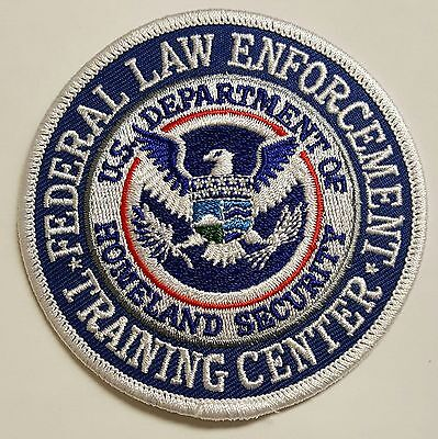 Department of Homeland Security Federal Law Enforcement Training Ctr FLETC Patch